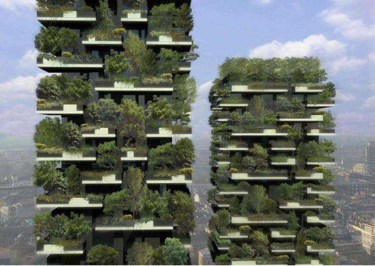 Bosco Verticale: première verticale de la forêt mondiale à Milan