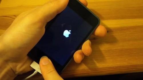 effectuer réinitialiser avec la combinaison de touches: iPod touch