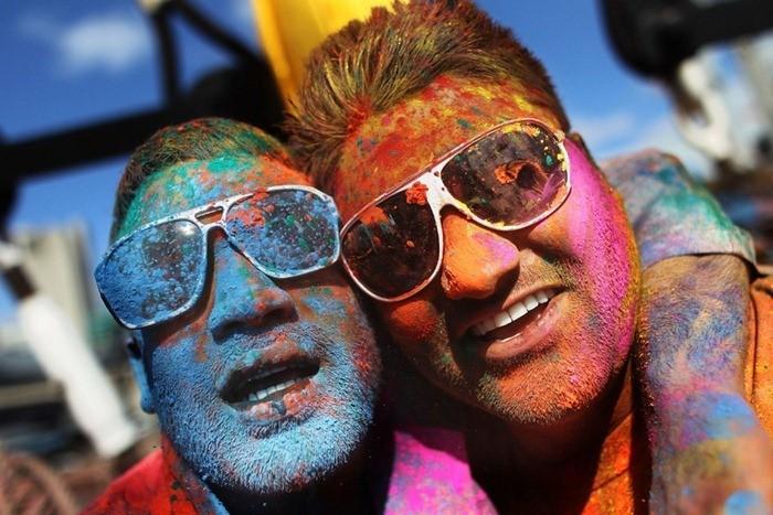 Célébrations Holi Around The World
