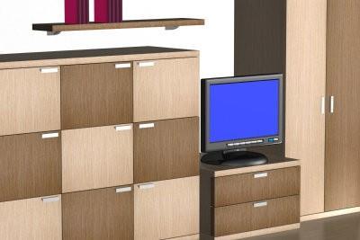 Construire des étagères avec lui-même les portes - comment cela fonctionne avec du bois