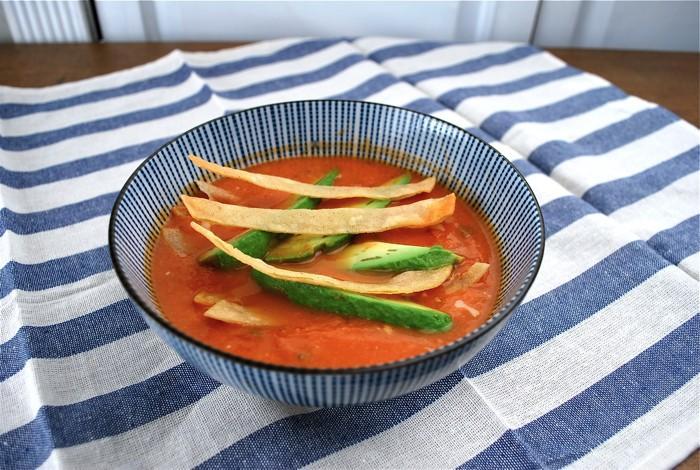 Tortilla Soup facile pour Jours d'hiver froid