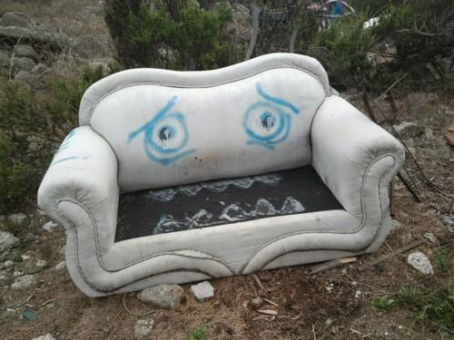 Pourquoi le long visage?  15 Couches Sad