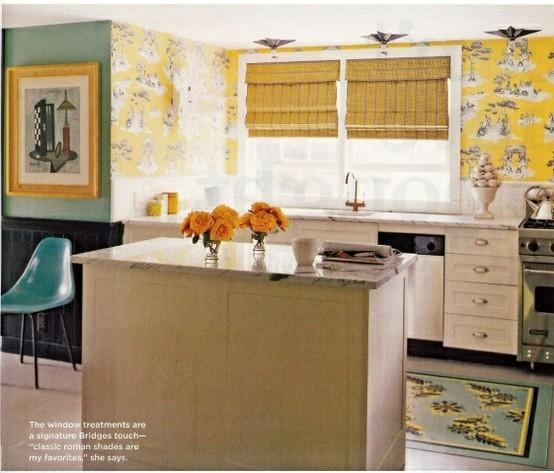 Voulez-vous mettre Wallpaper dans la cuisine?