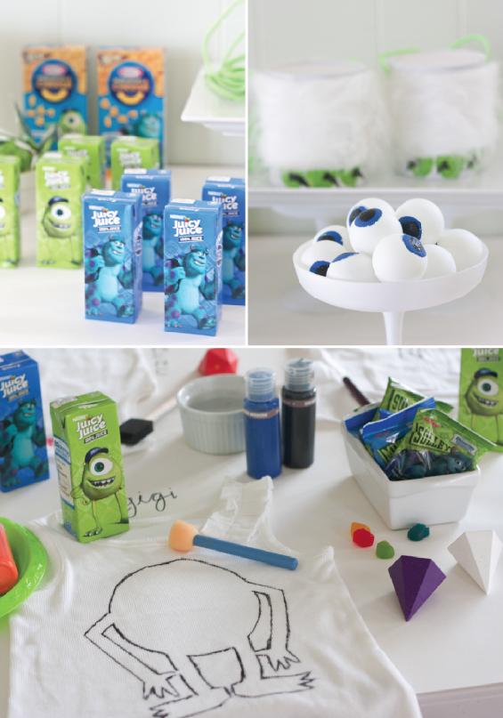 Idées de Monster Party Monsters Inspiré par U