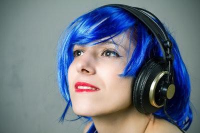 Bleu Couleur des cheveux - donc vous colorer un faits saillants intéressants