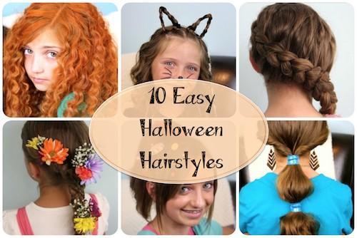 11 facile halloween costume coiffures - Coiffure halloween facile ...