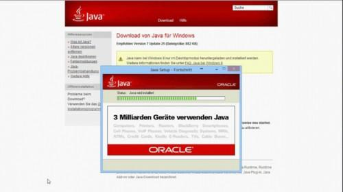 Minecraft est pas - le problème de Java pour résoudre ces