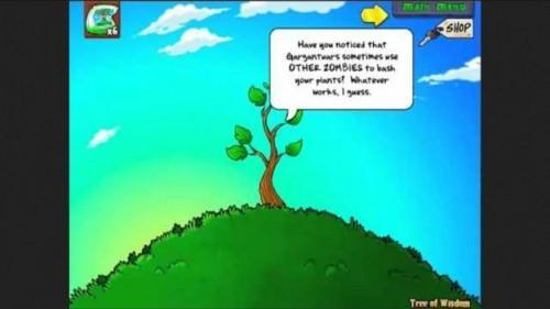 Acheter l'Arbre de la sagesse dans Plants vs Zombies - comment cela fonctionne: