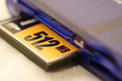 Formatage d'une carte mémoire - de sorte que vous sauvegarder les données de votre appareil photo