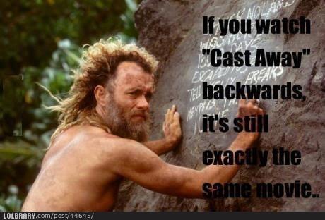 """Tout ce que je dois savoir, je appris de """"Cast Away"""""""