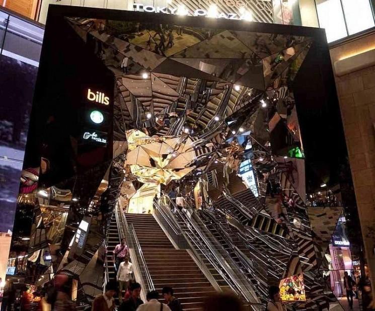 La grandeur architecturale de Omotesando, Tokyo