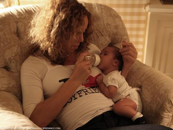 Mariah Carey et Nick Cannon Partager Family Photos