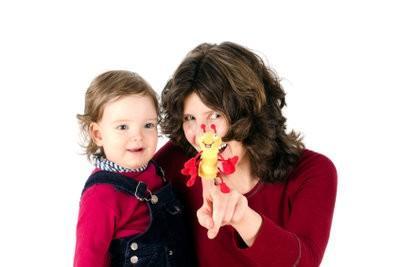 Bricoler Une marionnette à doigt avec des enfants - comment cela fonctionne: