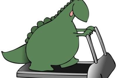 Un costume que les dinosaures tinker - une idée
