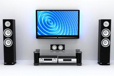 AEG boîte DVK 4628 Digital 3D TV - comme un moyen de se connecter à la TV