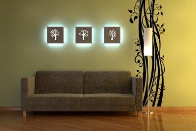 L'éclairage indirect - si vous construisez un plafonnier LED