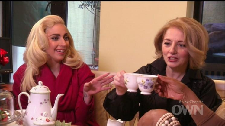 Lady Gaga pourparlers à Oprah: (! Rares photos de Gaga) Vouloir un Bump bébé et une équipe de football des enfants