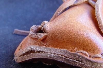 veste en cuir de réparation - si vous éliminez trous
