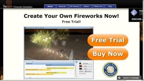 Utilisez les feux d'artifice simulateur - comment cela fonctionne: