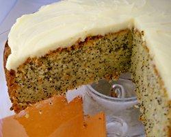 Orange et Lemon Poppy Seed Cake