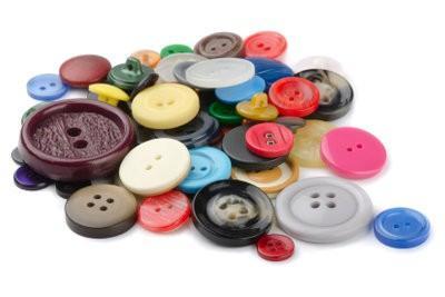 Utilisez les boutons en noir pour l'artisanat - comment cela fonctionne:
