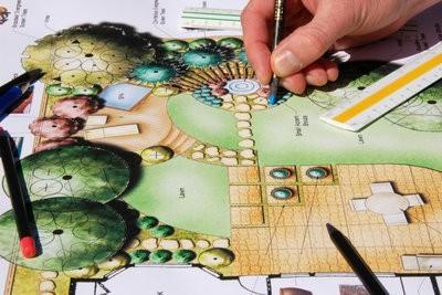 Créer un plan de jardin - options sur le PC