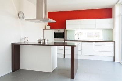 Embellissez la cuisine avec une feuille décorative