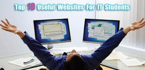 Top 10 des sites internet utiles pour les étudiants IT