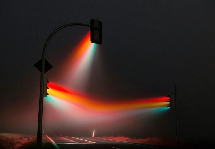 Surréaliste Traffic Light Photos par Lucas Zimmermann