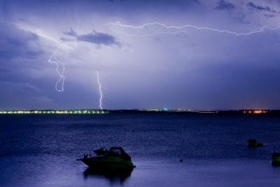 Nager pendant les orages?  - Pour bien se comporter quand le tonnerre et la foudre