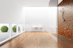 Dans la salle de bains décorer une partition - si vous leur faites Méditerranée