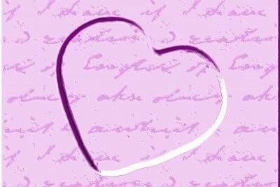 Une lettre d'amour - donc écrire anonymement