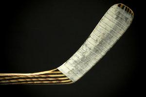 Taping bâton de hockey - alors allez-y