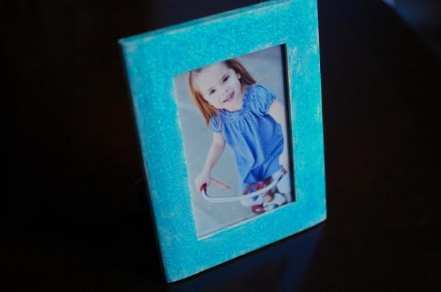 Moment petits enfants: Cadre Photo Glitter
