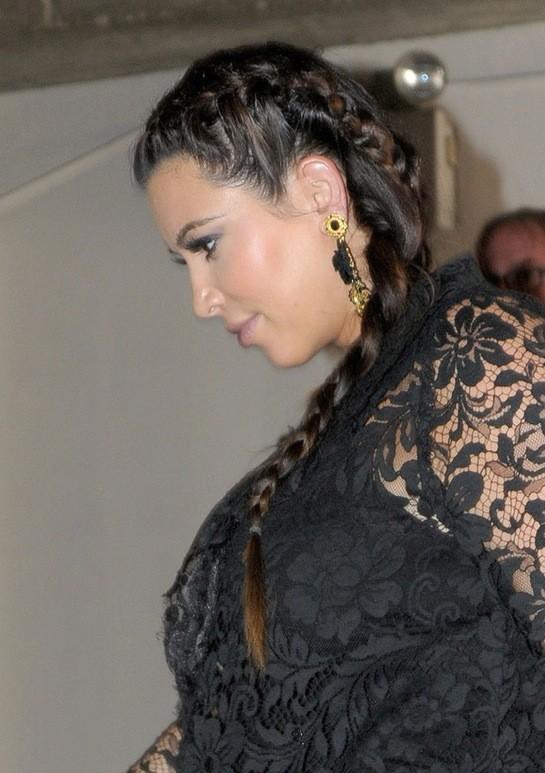 Kim Kardashian Edition cheveux!
