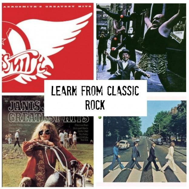 Ce que les enfants peuvent apprendre de Classic Rock