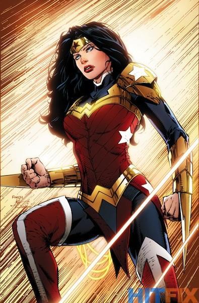 Wonder Woman a juste obtenu un costume-à un peu plus pratique dernière