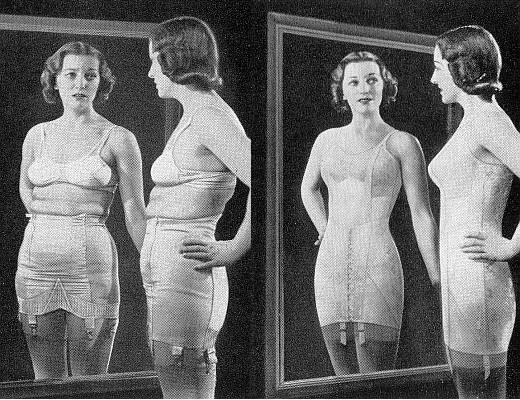 Avant Spanx et push-up Bras: 13 Photos de Corsets 1940-ERA à couper le souffle (littéralement)