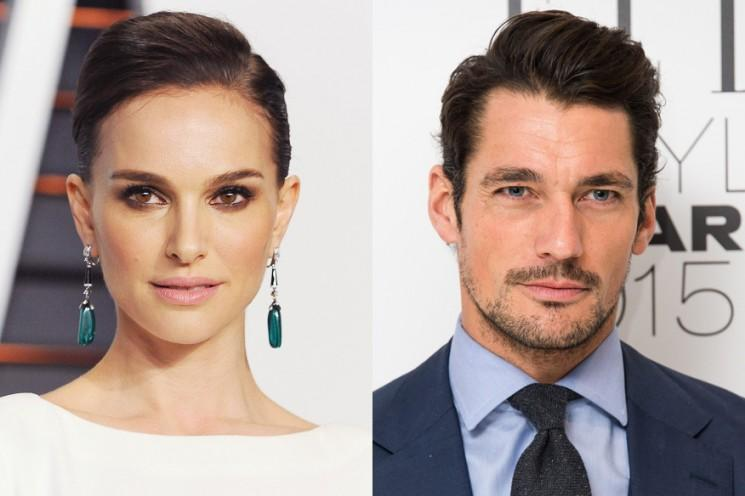 Nouvelle étude: Natalie Portman et David Gandy sont les plus belles célébrités