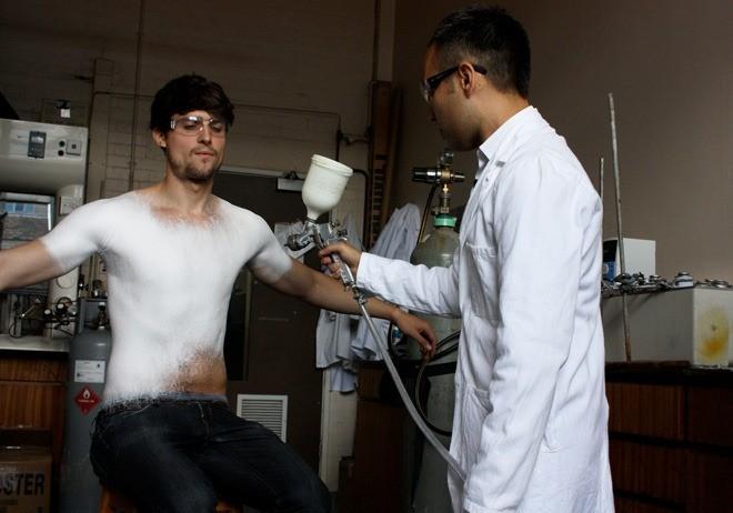 Designers Créer Première Spray mondiale sur toile