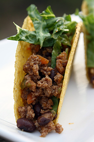 Turquie Tacos!  Une torsion sur tacos traditionnels que votre famille adorera.