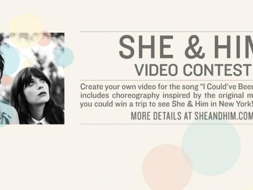 She & Him Concours vidéo: rencontrer le groupe lors de leur 8e Salon de New York Juillet!