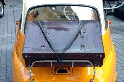 Opel Zafira: montage en rack à vélo - sur le hayon, il va comme ceci