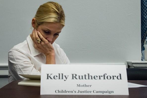 Kelly Rutherford refuse d'envoyer les enfants Retour à Monaco, Ex Répond