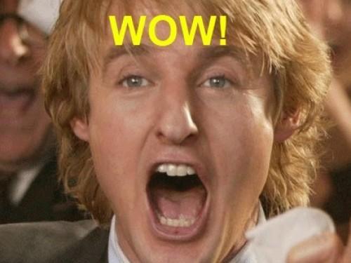 """Owen Wilson dire """"Wow"""" dans chaque film hilarant ="""