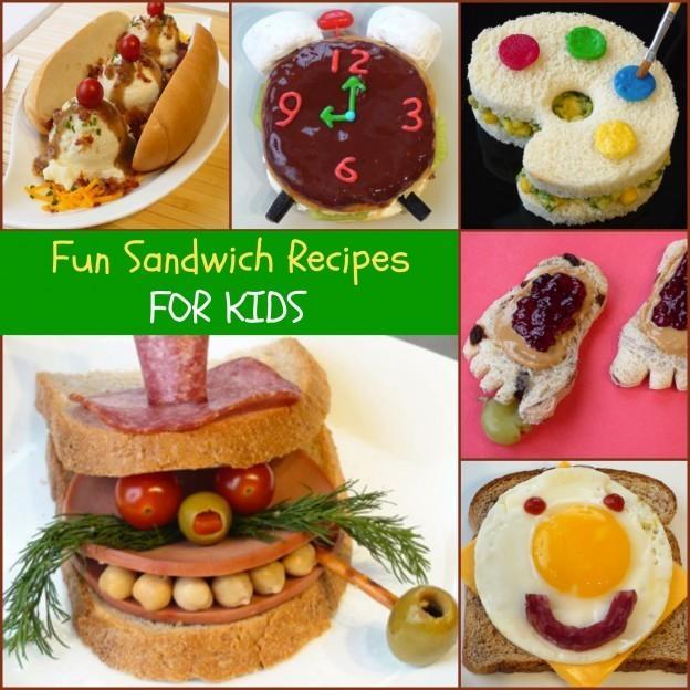 insanely recettes sandwich pour les enfants. Black Bedroom Furniture Sets. Home Design Ideas