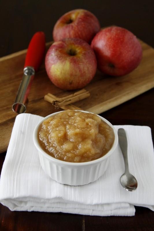 Facile Crock Pot compote de pommes