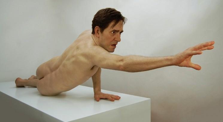 Hyper-réaliste Sculptures par Jamie Salmon