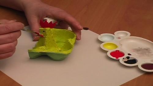 Bricolage de Pâques simple pour les enfants à partir de 2 années