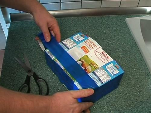Sacs Homemade Tetrapacks - comment ça marche